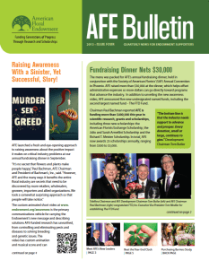 Archived Bulletins - 2013 Issue Four