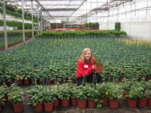 Brooke Gasteyer in German Wholesale Nursery