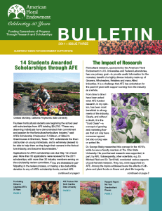 Archived Bulletins - 2011 Edition Three