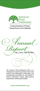 2011-2012 Annual Report Screenshot
