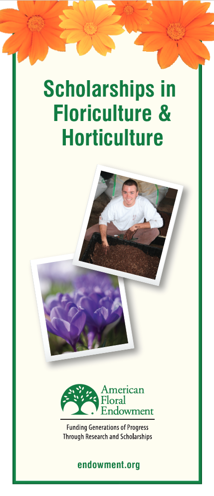 Scholarships in Floriculture and Horticulture - American Floral ...