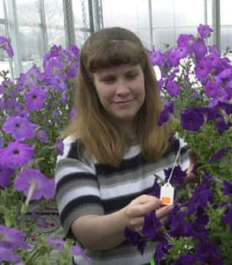 Michelle Jones - Floriculture/Horticulture Research