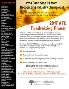 AFE Thank You Sponsors
