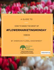 #FlowerMarketingMonday Guide cover