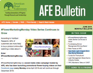June 2018 AFE Bulletin