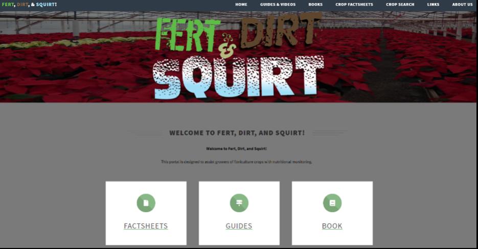 Fert Dirt Squirt Homepage